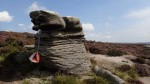Druid's Stone control, Kinder plateau Photo by Nick Ham
