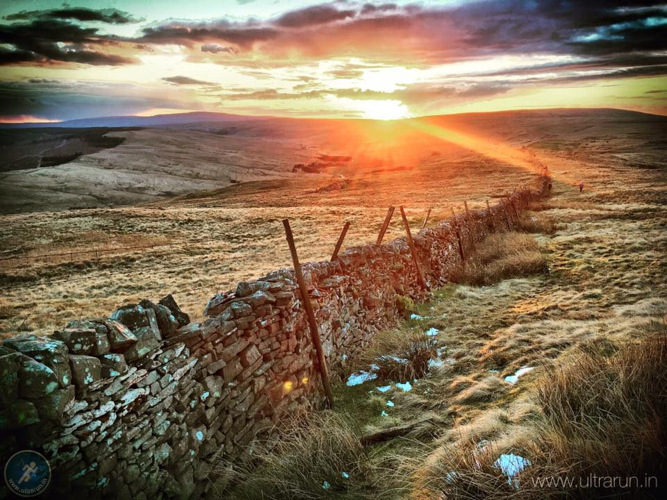 Sunset over Fleet Moss (photo by Giles Thurston)